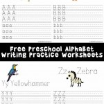 Printable Alphabet Writing Worksheets: A-Z Animals