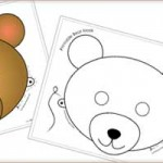 Printable Animal Masks: Bear Mask