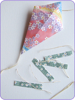 Easy Origami Kites Step 4