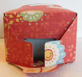 Box Template Bottom Flaps