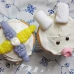 Fun Cupcake Ideas: Bunny Cupcakes