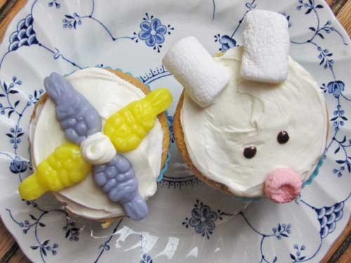 Fun Bunny Cupcake Idea
