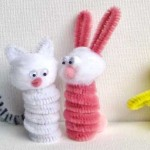 Easy Easter Crafts: Easter Finger Puppets