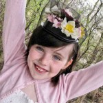 Recycled Crafts: Microwave Dinner Tray to Flower Pillbox Hat