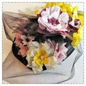 Flower Pillbox Hat