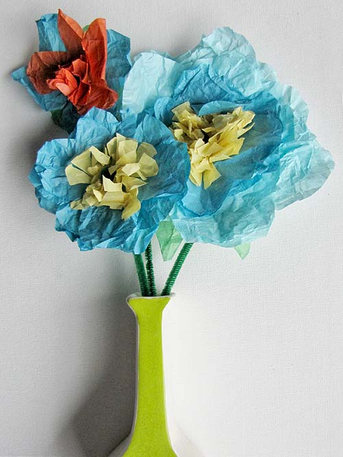 Basic Tissue Paper Flowers