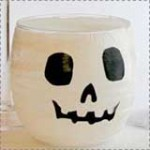 Easy Halloween Decoupage