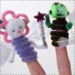 More Halloween Finger Puppets