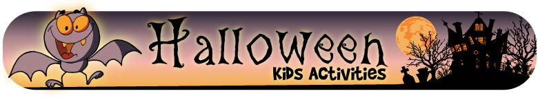 Halloween Kids Activites from Woo! Jr.