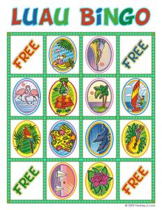 win bingo luau