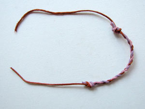 Braided Leather Friendship Bracelet