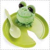 Cute Frog Sherbet Dessert