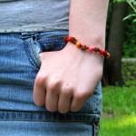Camp Crafts: Friendship Bracelets Tied with a Sliding Knot