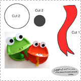 Froggy Catch Game and Craft