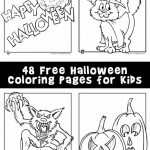 Halloween Coloring Pages – The Ultimate Collection of 48 Printables!