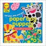 Paper Bag Puppets Book