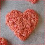 Pink Heart Rice Krispie Treats