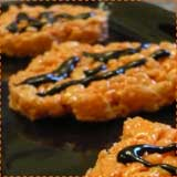 Cookie Cutter Pumpkin Rice Krispie Treats