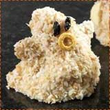 Rice Krispie Treat Ghosts