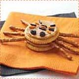 Ritz Cracker Spider Halloween Treats