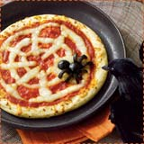 Spiderweb Pizza Halloween Recipe