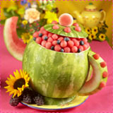 Teapot Watermelon Basket
