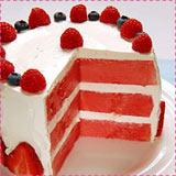 Watermelon Dessert Cake
