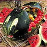 Whale Watermelon Carving Idea
