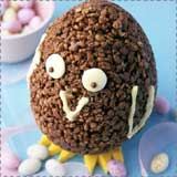 Chocolate Easter Rice Krispie Chicks