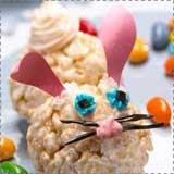 Rice Krispie Treat Easter Bunny