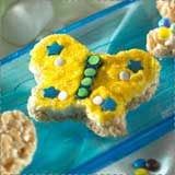 Rice Krispie Treat Spring Butterfly