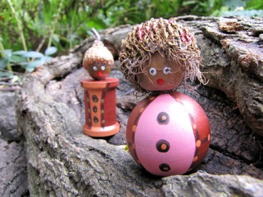 Fall Acorn Mini People Craft