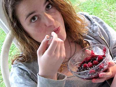 Blueberry Raspberry Applesauce