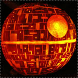 Star Wars Death Star Pumpkin