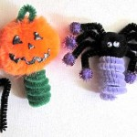 Halloween Kids Crafts: Easy Finger Puppets
