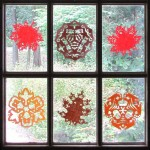 """Fall Paper """"Snowflake"""" Crafts"""