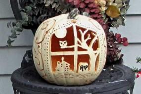 Carving Artificial Pumpkins