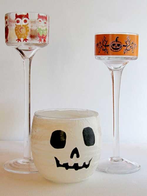 Halloween Decoupage Projects