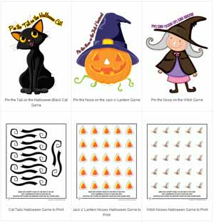image regarding Free Printable Halloween Games for Adults identified as Printable Halloween Game titles Woo! Jr. Small children Actions