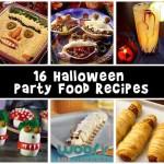 Halloween Treats and Halloween Party Food Recipes
