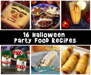 Halloween Treats and Halloween Party Food Recipes