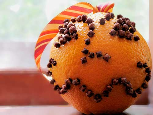 Fall Pomander Crafts