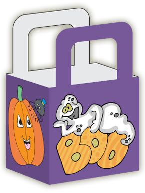graphic about Free Printable Halloween Crafts called Printable Halloween Address Luggage Woo! Jr. Little ones Actions