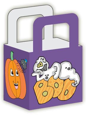 printable halloween treat bag - Kids Halloween Treat Bags