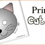 Printable Animal Masks: Cat Mask