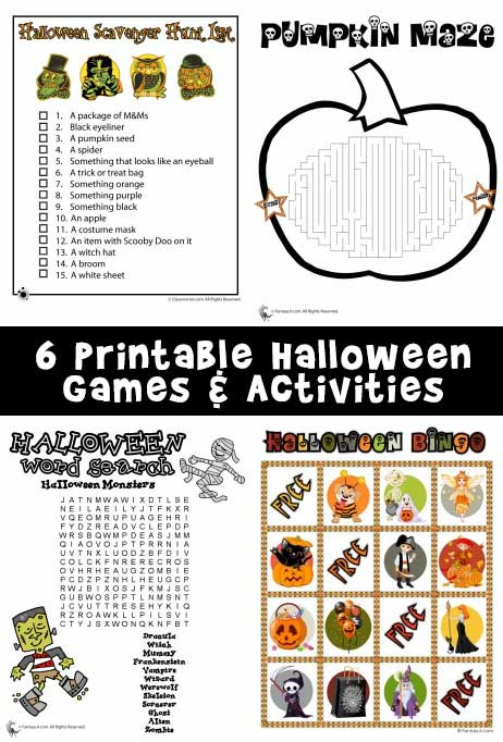 photo about Free Printable Halloween Games for Adults identified as Printable Halloween Video games Woo! Jr. Youngsters Pursuits