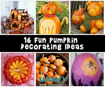 16 Fun Pumpkin Decorating Ideas