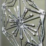 Easy Q-Tip Snowflake Craft
