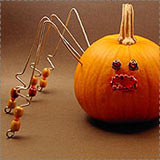 Wire Spider Pumpkin