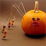 Wire Spider Pumpkin